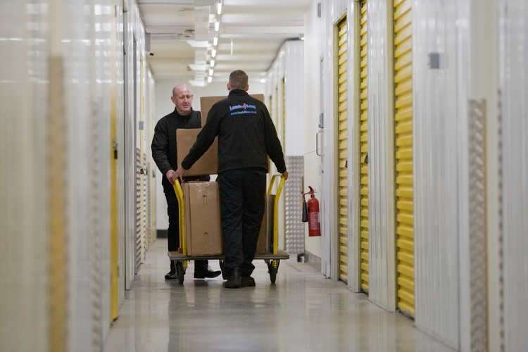 storage in Nowich at The Big yellow with Loas4less removals