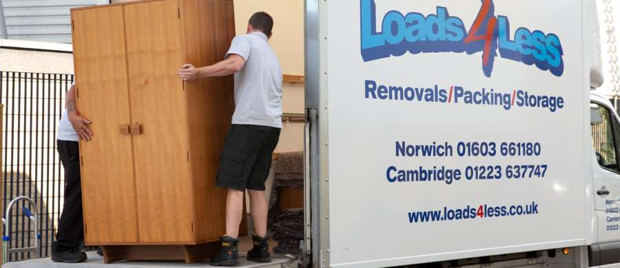 removals in Norwich at loads4less mna with a van services