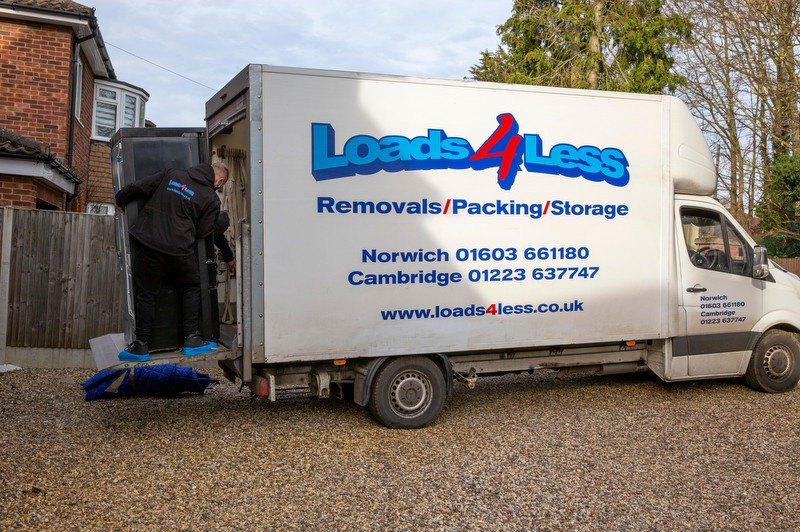 man and a van professional removals in Norwich